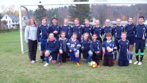 St. Paul's Soccer Team finished the season with a win amid snowflakes.