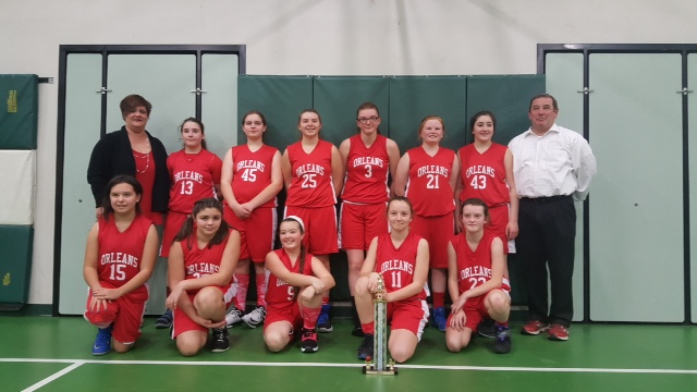 girls basketball tournament 2nd place